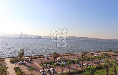 Karşıyaka Alaybey Sahilde Deniz Manzaralı ve Tadilatlı 2+1 Daire