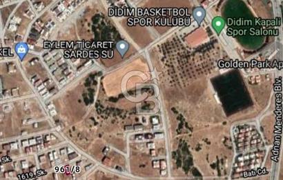 Didim stadyum arkasında %40 3,5 kat konut arsası