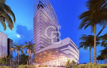 KKTC Iskelede Otel Konseptinde Lux 1+1 Rezidanslar