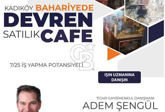 Moda'da Devren Satılık Cafe