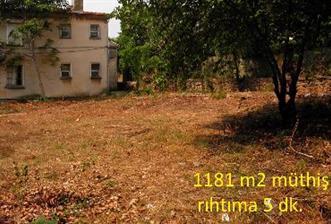 heybeliada'da müfrez arsa + bahçeli iskanlı müstakil ev toplam 1181m2 arsa +ev