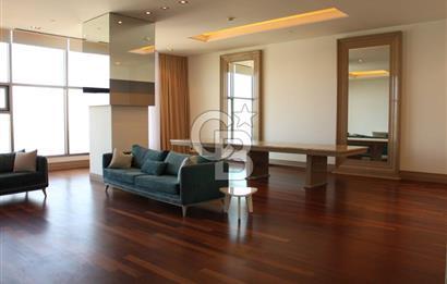 Beşiktaş boğaz manzaralı 7+1 kiralık penthouse