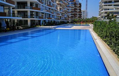 Kıbrıs Girne Merkezde Beyaz Eşyalı Kiralık 1+1 Residence Dairesi