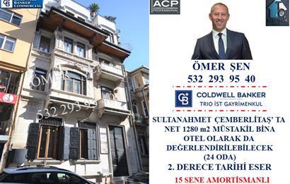 SULTANAHMET ÇEMBERLİTAŞ TA NET 1280 m2 MÜSTAKİL BİNA