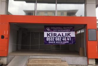 Çekmeköy Mimar Sinan Caddesinde Kiralık 320 m2 Mağaza