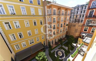 Beyoğlu,Tomtom Gardens'ın En Keyifli 1+1 Dairesi SATILIK