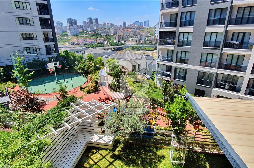 Bahçeşehir Konakları 3. Etap 4+1 Satılık Büyük Bahçeli Dubleks