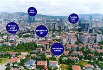 Dragosta önü açık 763 m² imarlı satılık villa arsası