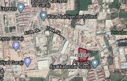 Pınarbaşı En iyi Lokasyonda Kiralık Arsa