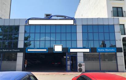 Ankara Bulvarında Satılık 965 m2 Çelik Konstrüksiyon İşyeri