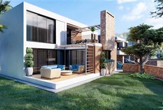 KKTC Girne Ozanköy'de Türk Malı  Satılık 3+1  Modern Villalar