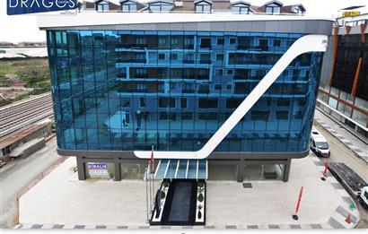 maltepe'nin en yeni iş merkezi dragos center'da kiralık ofis