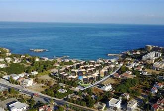 Girne Karaoğlanoğlunda Denize Yakın Site İçerisinde Satılık 1+1 Lüks Loft Daireler