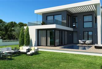 Girne Alsancak'ta Merit'lere Yakın Satılık 3+1 Ultra Lüks Villalar