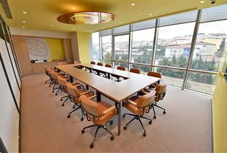 Batı Ataşehir'de A Plus Yeni Plazada 36 m2 Kullanıma Hazır Ofis