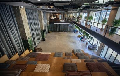 Levent'te A Plus Yeni Plazada 300 m2 Kullanıma Hazır Ofis