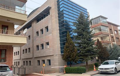 Çankaya Öveçler Full Yapılı Kiralık 2Kat 592m2 Mobilyalı Ofis