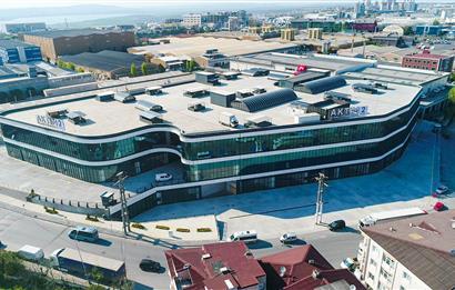 Aktim2 İşMerkezi Net 1.106 m² Zemine Basar Satılık Fabrika