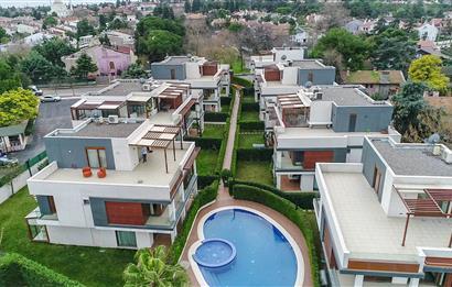 Postanede Muhteşem Lüks, Havuzlu, Asansörlü Satılık 7+1 Villalar