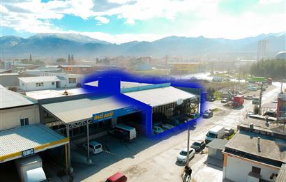 Denizli 3. Sanayi Sitesinde Yüksek Kira Getirili Satılık İşyeri