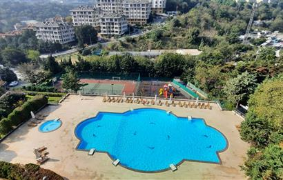 Ulus Palmiye Sit. Havuz ve Doğa Manzaralı Satılık Dubleks Daire