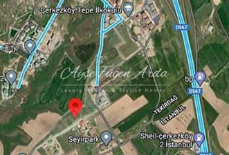 Çerkezköy'de 4609 m2 Konut İmarlı Satılık Arsa