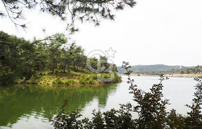 Seferihisar Kavakdere Baraj Manzaralı Eşsiz Çiftlik Evi