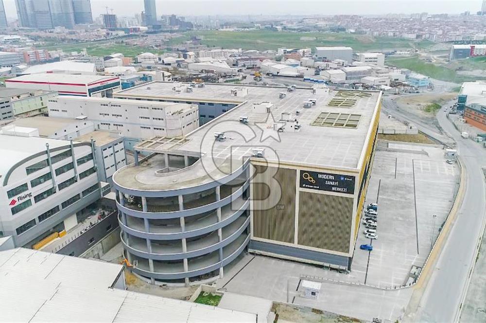 Modern Sanayi Sitesinde Net m²'den 649,50 m² Kiralık Depo