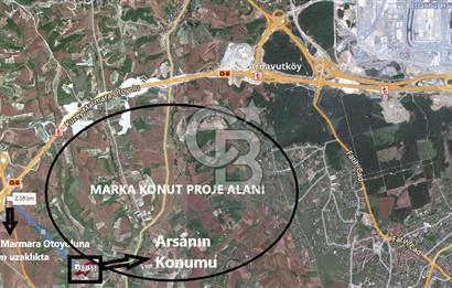 Arnavutköy Dursunköy'de Kanal İst. Manzaralı İmarlı Satılık Arsa