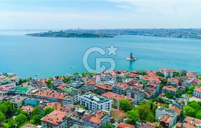 Spacious 4 + 2 Roof Duplex for Sale with Historical Peninsula and Galata Tower View in Salacak, İstanbul