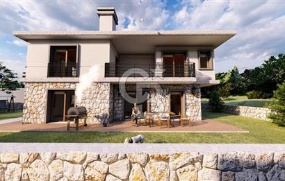 Datça Kızlan Mah. Lansman'dan  Geniş Bahçeli 4+1 Lüks Villa
