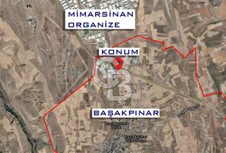 BAŞAKPINAR MİMARSİNAN ORGANİZE'YE YAKIN 5140 m² TİCARİ PARSEL