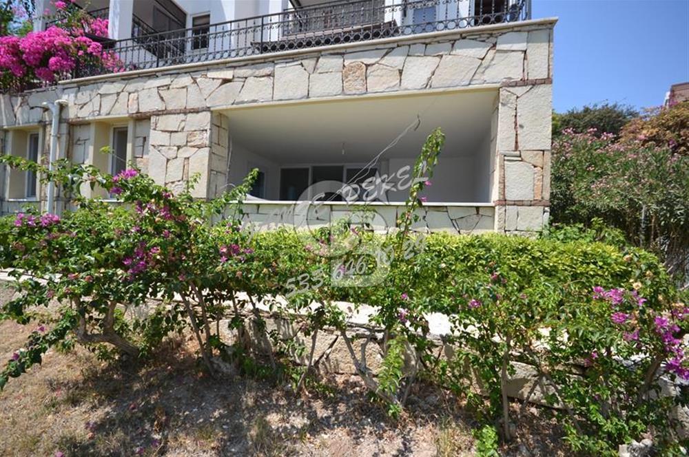BİTEZ KOYU ÜZERİ YILLIK KİRALIK 2+1/ 110 m2 Bahçe katı
